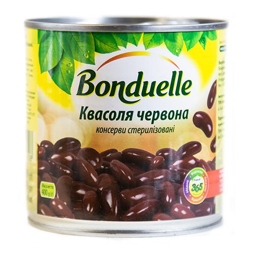 КВАСОЛЯ ЧЕРВОНА 400Г BONDUELLE