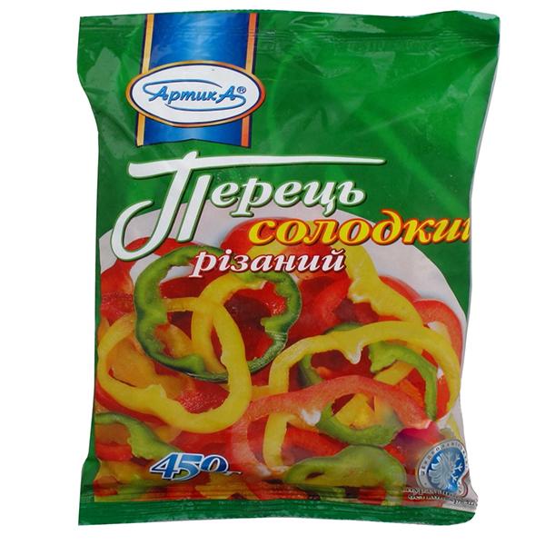 ПЕРЕЦЬ СОЛОДКИЙ НАРІЗКА С/М 450Г АРТИКА